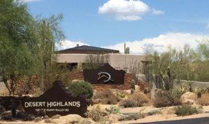 Entrance Desert Highlands #1